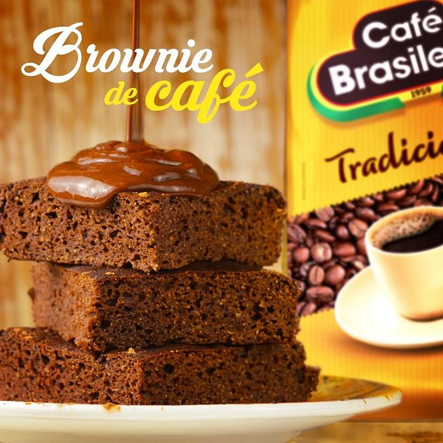 Brownie de Café e Chocolate